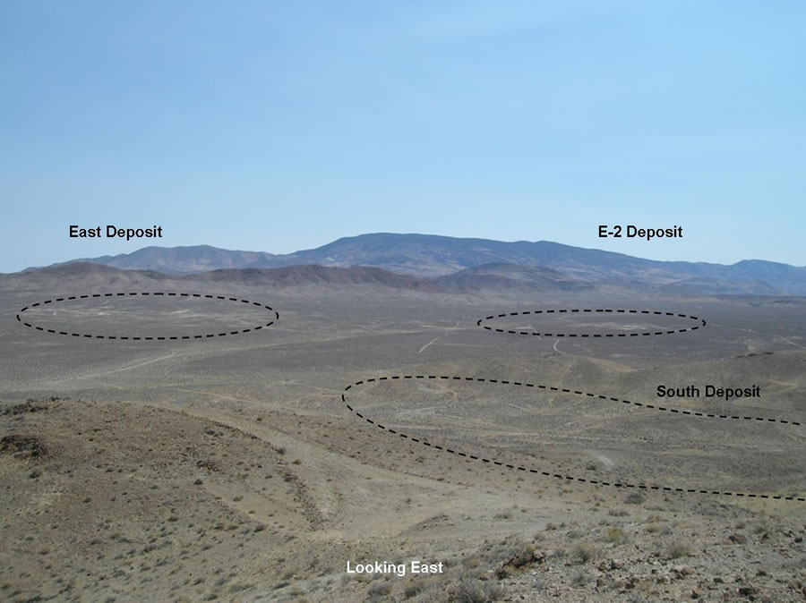 East & South Deposits