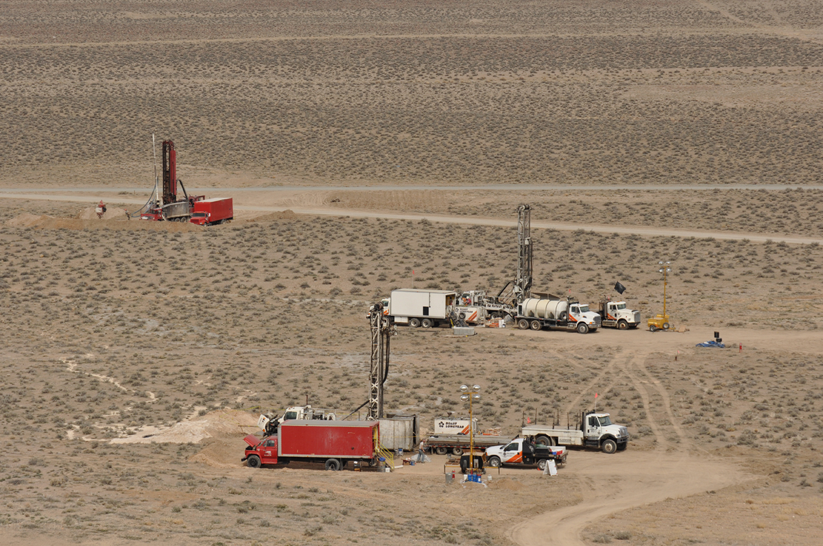 North Deposit Drilling