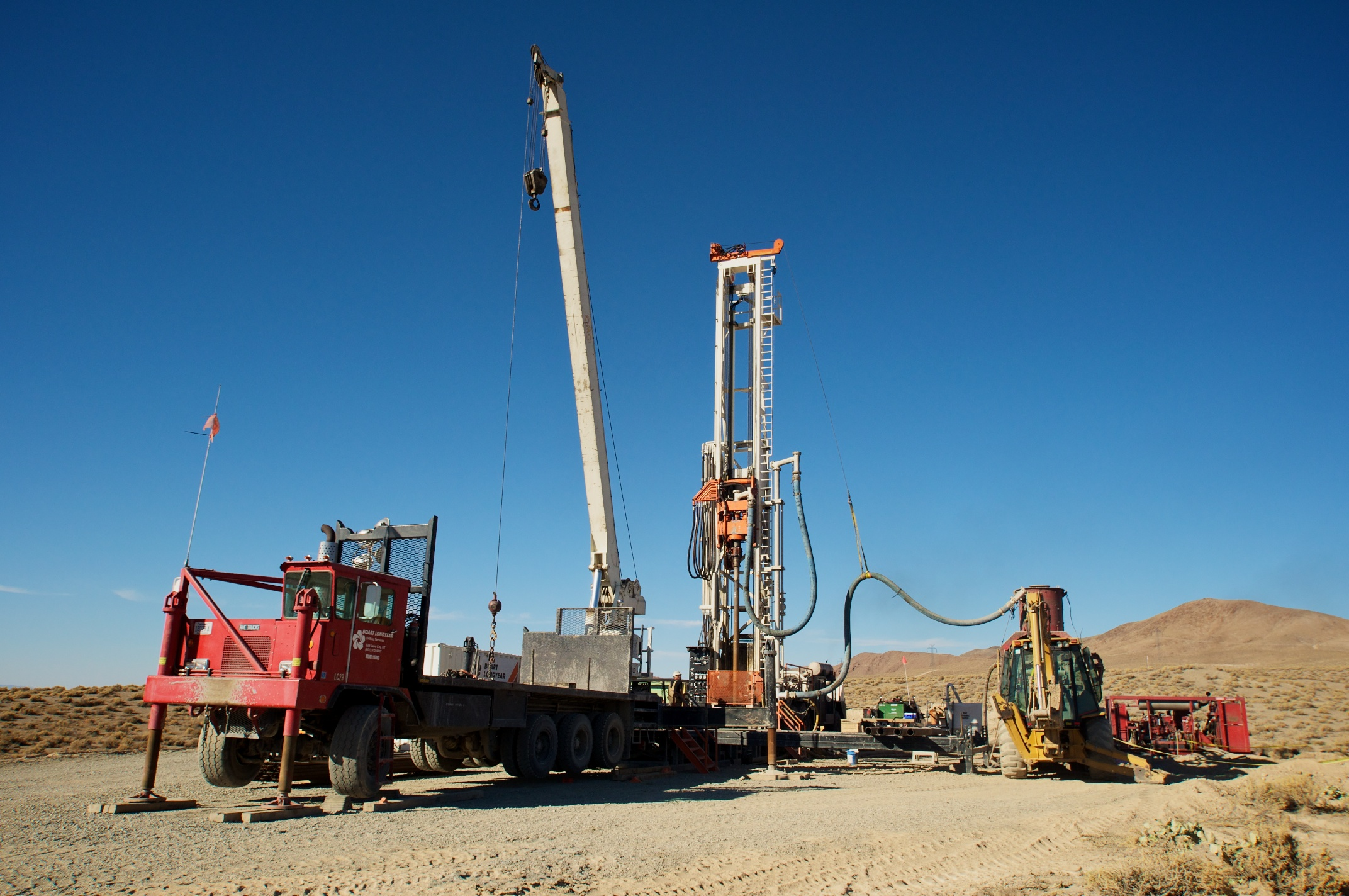 Well Drilling East Area