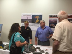 Greg French, Vice President Exploration and Project Development and Project Geologist, Korin Carpenter answer questions about geology and exploration at Pumpkin Hollow.